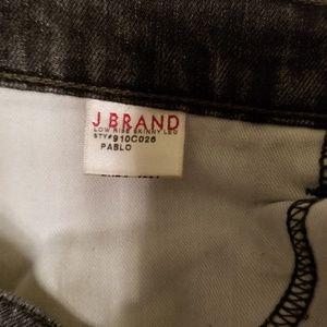 J Brand Jeans - JBRAND PAINT DISTRESSED PABLO SKINNY JEANS 24